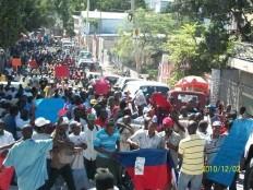 Haïti - Social : Manifestation anti-élections à Port-au-Prince