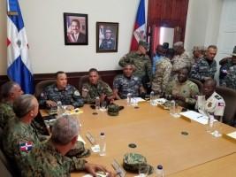 Haïti - Sécurité : Réunion bilatérale de hauts responsables militaires et policiers d'Haïti et de la RD