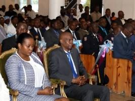 iciHaïti - Port-de-Paix : Le couple présidentiel célèbre la fête de l'Immaculée Conception