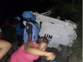 Haïti - Sécurité : Véhicule blindé contre tap-tap, 4 morts et 9 blessés