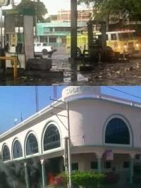 Haïti - FLASH : Banques attaquées, station d'essence incendiée, l'opposition se radicalise