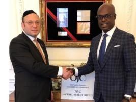 Haïti - New-York : Le Consul Gandy Thomas demande l'aide de la Chambre de Commerce juive orthodoxe