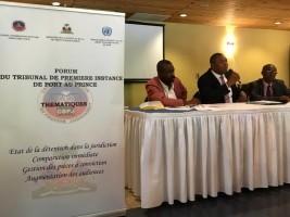 Haïti - Justice : Accélération du traitement des dossiers au Parquet de PAP