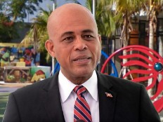 Haïti - Politique : Michel Martelly à «Little Haiti»