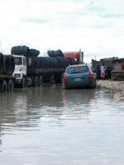 Haïti -  FLASH INFOS : La route vers Malpasse partiellement inondée