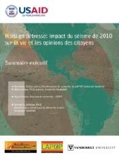 Haïti - Social : Impact du 12 janvier sur la vie et les opinions des citoyens - Partie I