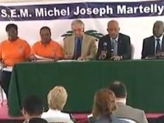 Haïti - Climat : Michel Martelly en visite au COUN