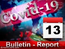 Haïti - Covid-19 : Bulletin quotidien 13 juillet 2020