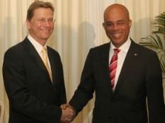 Haïti - Allemagne : Guido Westerwelle a rencontré le Président Martelly