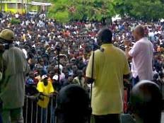 Haïti - Politique : Le Président Martelly, en visite dans le Grand Nord
