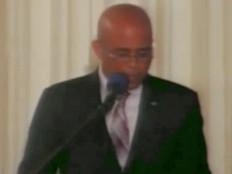 Haïti - Technologie : Discours de Martelly, «Semaine de la technologie»