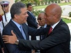 Haïti - Politique :  Michel Martelly a rendu visite au Président Leonel Fernández