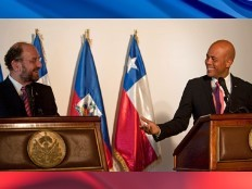 Haïti - Chili : Le Président Martelly a reçu au Palais vendredi, Alfredo Moreno
