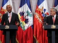 Haïti - Chili : Martelly voudrait que la Minustah devienne une mission de développement