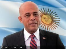 Haïti - Argentine : Martelly reporte son voyage en Argentine