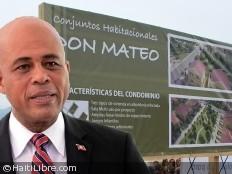 Haïti - Reconstruction : Martelly a visité des projets de logements