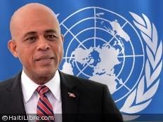 Haïti - Sécurité : Martelly parle de la Minustah