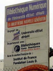 Haïti - Technologie : Ouverture officielle de la première Bibliothèque Numérique de l'UEH