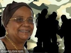 Haïti - Sécurité : Mirlande Manigat se dit favorable à une force armée spécialisée