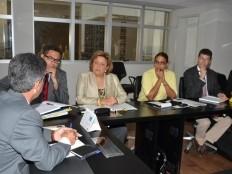 Haïti - Social : Première journée de travail de Sophia Martelly au Brésil