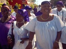 Haïti - Culture : Marche vodou à Jacmel
