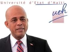 Haïti - Éducation : Martelly rencontre des étudiants et le recteur de l'UEH