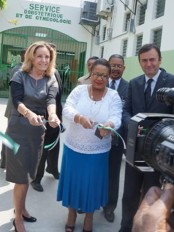 Haiti - Health : Inauguration of maternity ward of the HUEH