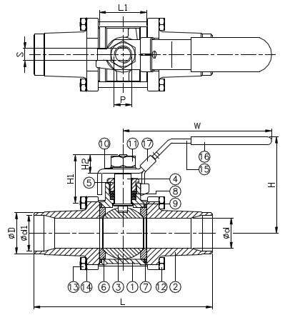 5 Port Ball Valve PVC Ball Valve Wiring Diagram ~ Odicis
