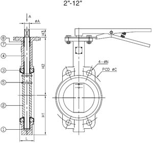 Wafer Check Valve 1 Pressure Relief Valve 1 Wiring Diagram