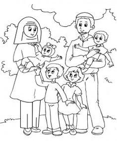 Homeless Family of Five
