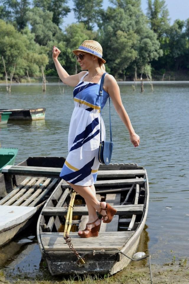 Floating Fisherman