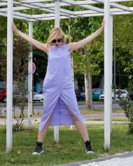 Hajdučica Clothing – Online Store – Purple Maxi Dress
