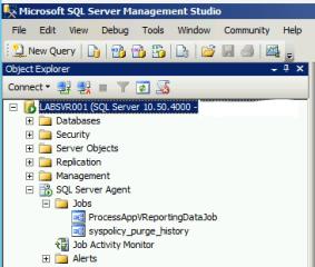 SQL Agent Reporting Job