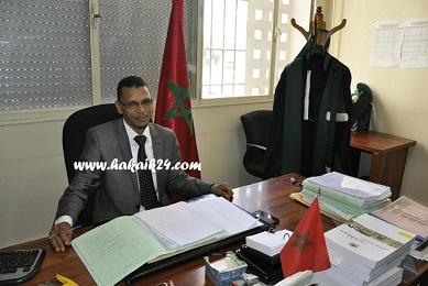 حوار مع الأستاذ علي ايت كاغو قاضي الأحداث بالمحكمة الابتدائية باكادير