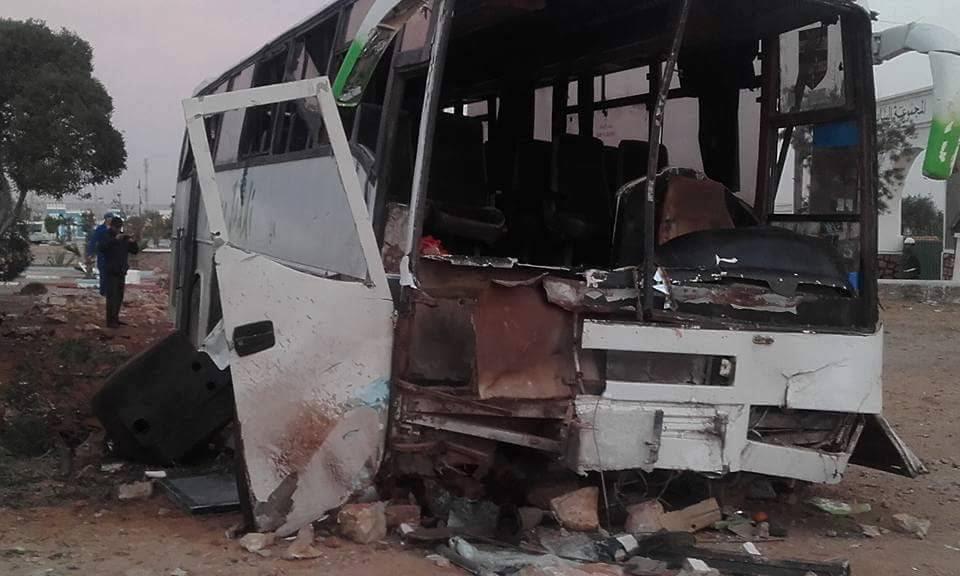 قتيلين و42 جريحا في حادثة سير خطيرة بطانطان