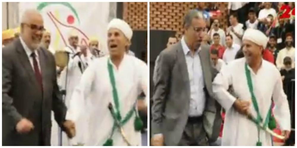 بالفيديو : بنكيران و رباح ناشطين و كايشطحو على اقاعات أحواش بأكادير