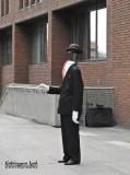 Niewidzialny człowiek | Peter's Hill, Londyn, Wielka Brytania
