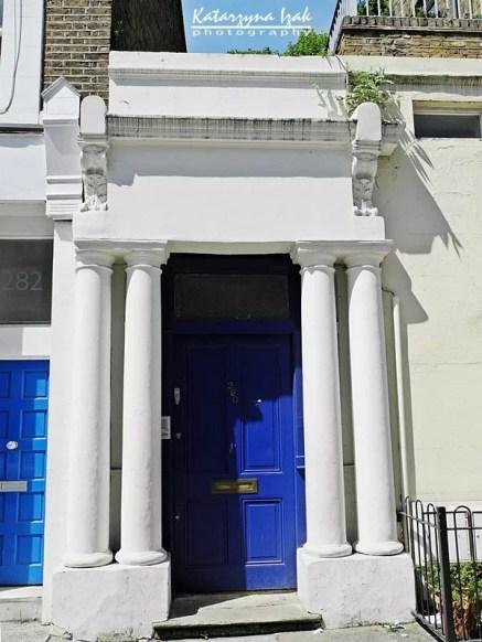 Niebieskie drzwi z filmu Nothing Hill
