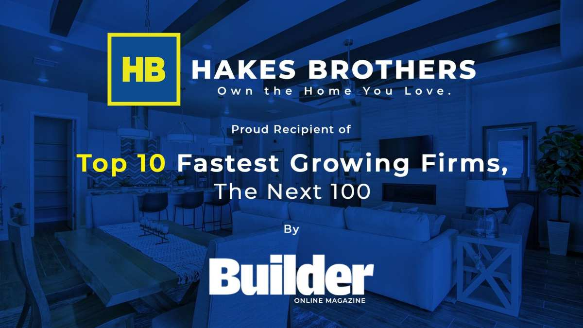 Hakes Brother - Builder Online Award