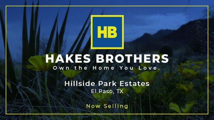Hillside Park Estates Now Selling