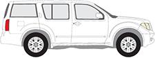 Bagażniki dachowe do samochodów Nissan i PATHFINDER III