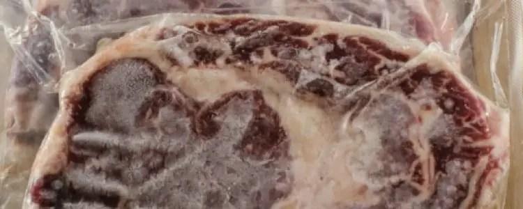 Vlees invriezen en ontdooien
