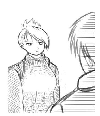 例のセーター漫画ロイアイ編13