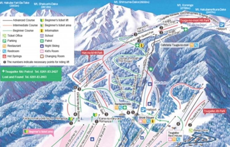Tsugaike Kougen Ski Resort Hakuba Slopeside Chalet