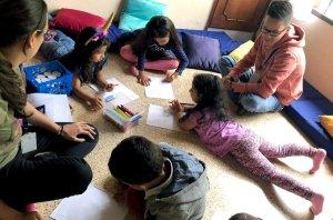 ¿Es importante que nuestros niños empiecen a relacionarse con otros?