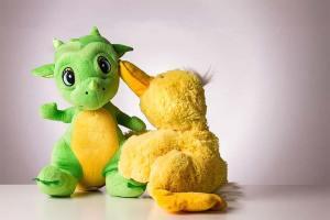 Un baúl con cuentos de dinosaurios para niños
