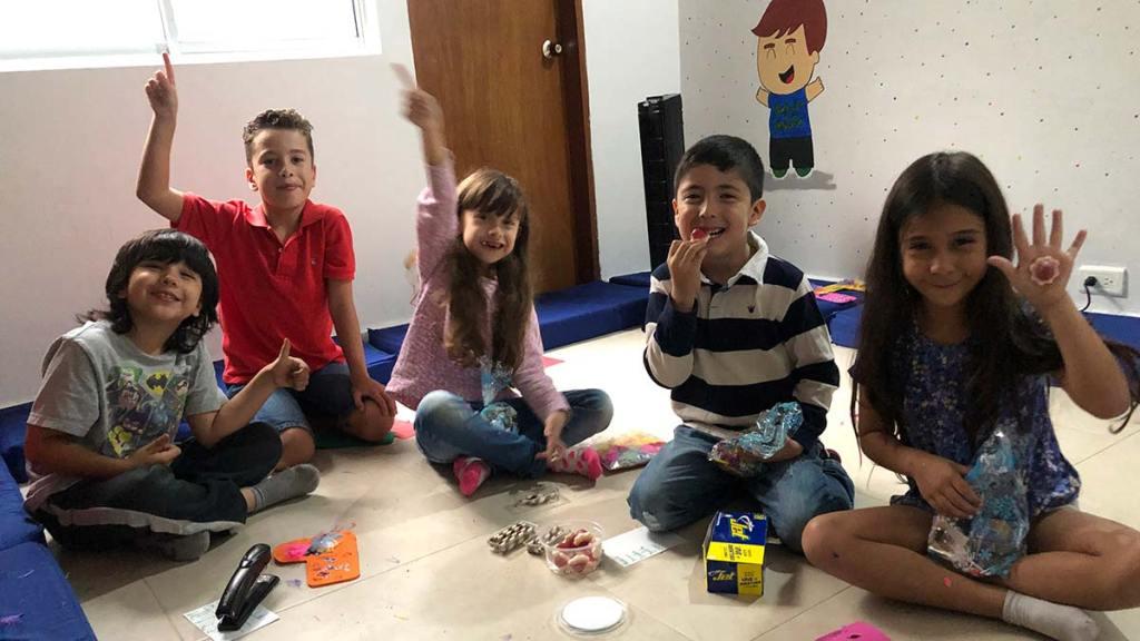 Psicoterapia de grupo en niños