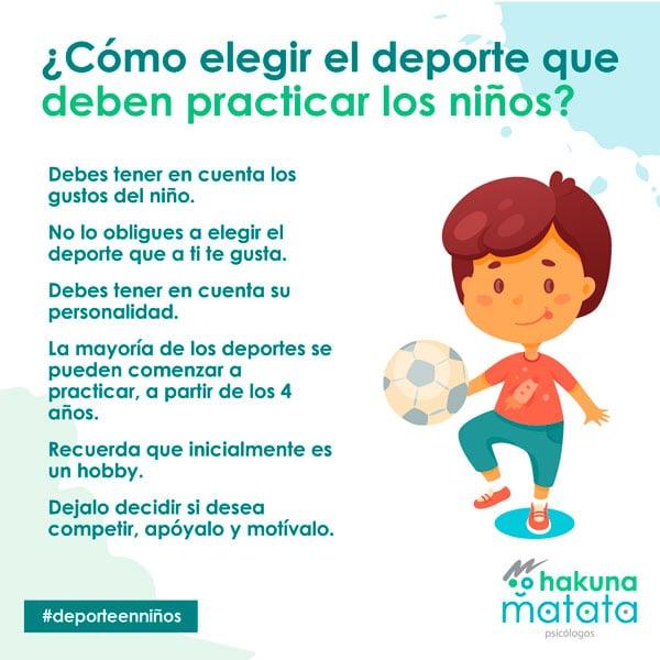 Consejos para elegir la actividad física de tus hijos