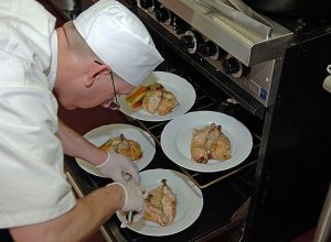 chef preparing certified meals