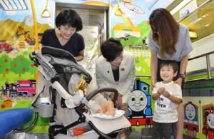 Toei Oedo Line Provides Child-Friendly Space